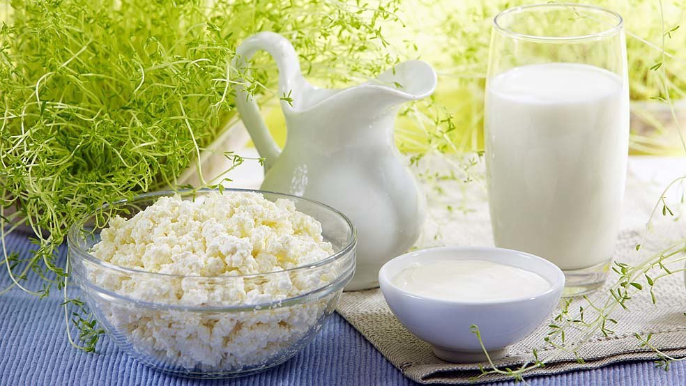 Отдавайте предпочтение низкокалорийным молочным продуктам