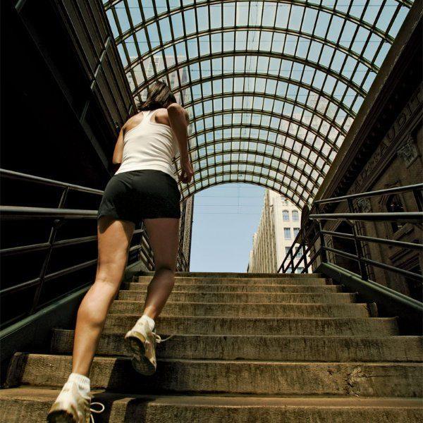 Используйте лестницу для укрепления своего здровья