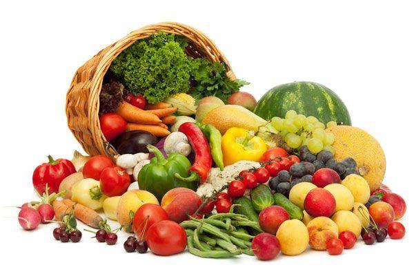 Овощи и фрукты обязательны к употреблению ежедневно