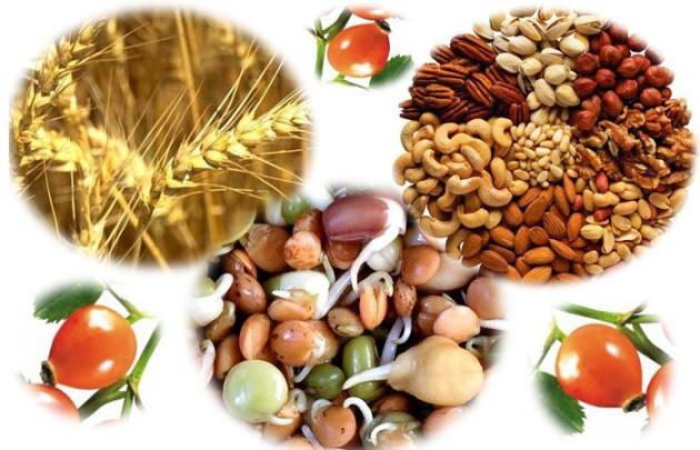 В день нужно съедать горсть различных орехов-это примерная норма витамина Е в день.