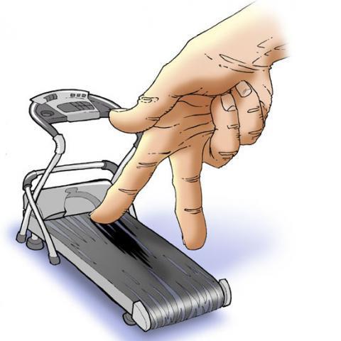 Пальцы, как и все тело, нуждаются в тренировке