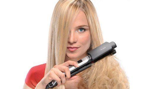 Самый быстрый способ выпрямить волосы- утюжок. Однако, помните, что он безвозвратно сжигает структуру волос и после частого использования вам останется только отрезать разрушенный волос, чтобы вернуть живой вид своей прическе.