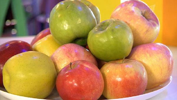 Яблоки-это источник пектина