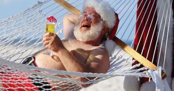 Не надо брать пример с Санта-Клауса))