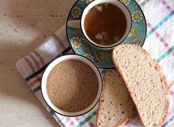 Хлеб из амаранта обладает очень приятным ароматом, обязательно попробуйте!